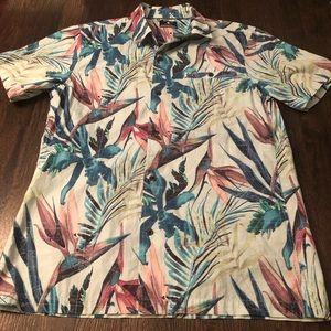 Hurley Floral Short Sleeve Shirt
